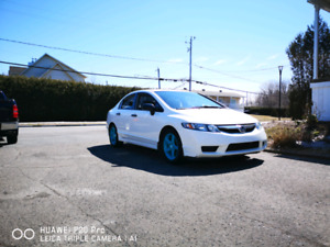 Honda civic 2010 dx-a manuel 126***km