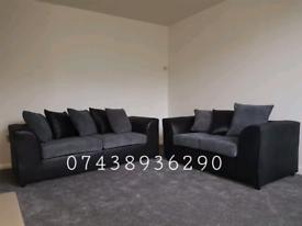 Brand New Jumbo Cord Corner 3+2 Sofa