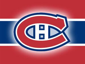 4 tickets Habs vs Calgary Flames - Sunday March 20!