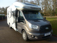 Chausson Welcome 620 VIP 3 berth low profile, Large Garage, Island Bed,