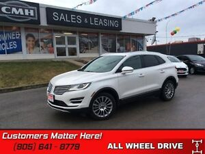 2015 Lincoln MKC   AWD, NAVIGATION, SUNROOF, PWR SEATS, LEATHER!