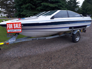 Bayliner boat ,galvanized trailer and 85hp motor $1500 firm