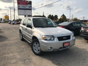 2007 Ford Escape XLT 4WD, SUV, Certified, 3 Years Warranty