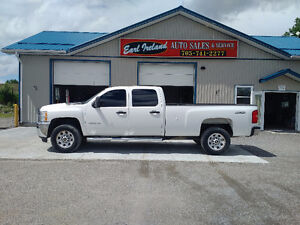 2011 Chevrolet Silverado 2500 4wd Long Box Crew Cab