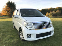 FRESH IMPORT 54 PLATE FACE LIFT 4WD NISSAN ELGRAND XL BUSINESS EDITION V6