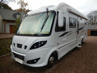 2014 built RS Elysian Rear Garage Luxury A-Class Motorhome For Sale TOMMY SEARLE
