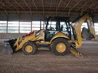 Cat Backhoe - 420F BHLIT