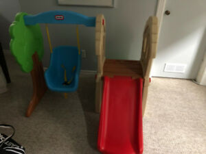Little Tikes Hide and Seek Climber and Swing Playset