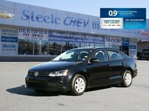 2015 VOLKSWAGEN JETTA Trendline+ and ONLY 17,000km's!!!