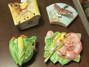 Vintage Ceramic Planters Made in Japan