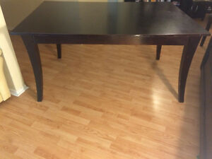 Beautiful wood dining table for sale