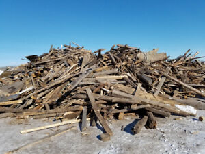 Untreated Scrap Wood of Mixed Lengths - large truck load