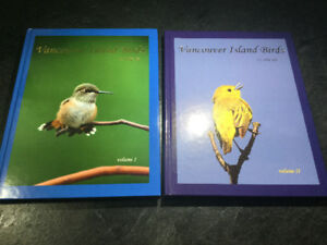 Vancouver Island Birds by Mike Yip Volume 1 & 2 Signed Hardcover