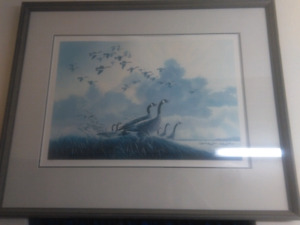 Selling a big framed picture