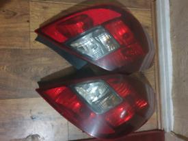 Vauxhall Corsa Rear Lights 2009-2014