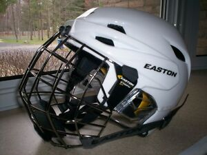Casque Neuf Easton E700 Blanc Combo Adult Small.