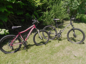 His and Hers Lightweight Bikes