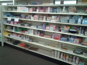 Dollar store inventory and store fixtures