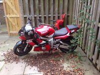 Yamaha r6 11k 2001