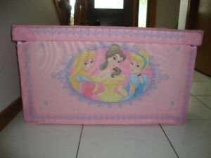 TOY STORAGE CONTAINER - DISNEY PRINCESS