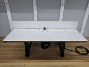 Table a toupie Craftsman