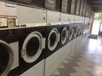 Commercial washers and commercial dryers