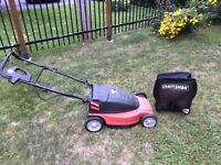 Craftsman electric lawnmower