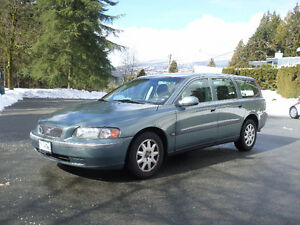 2002 Volvo V70  Family ready safety