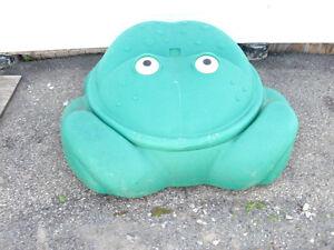 carré de sable (grenouille)