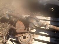 Rear axle out of a 1998 dodge ram 1500