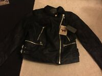 Ci sono leather jacket with tags