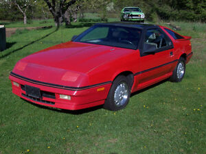 1987 Dodge Daytona Shelby Z Hatchback