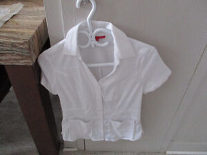 uniforme neuf infirmière ou préposé xs BLANC