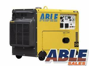 KP6BR1SIL 6KVA 240V Diesel Generator in Canopy Single Phase Bentley Canning Area Preview