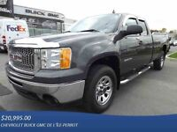 2010 GMC SIERRA 1500 4WD EXTENDED CAB BOITE 8', 5.3L, A/C 2 ZONE