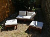 Applaro / Hallo two seat garden sofa