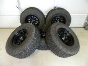 Fuel D559 Rims on Goodyear Wrangler Duratracs