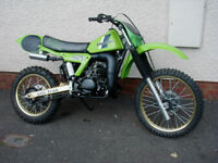 KAWASAKI KX 250 CLASSIC AIR COOLED STUNNER