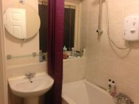 Fully furnished double room close to city centre and available now.