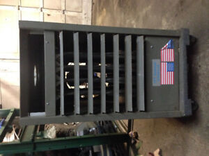Propane converted shop / garage furnace heater, Bowness