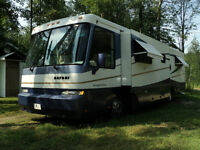 1999 motorisé safari cat pusher diesel 39 pieds