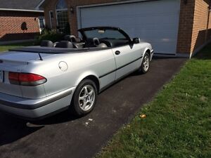 2001 SAAB 93 turbo convertible