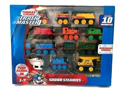 Thomas & Friends TrackMaster Sodor Steamies Engines Set Thomas The Train New