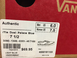 Bnew in box vans shoes Cambridge Kitchener Area image 5