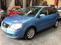 VOLKSWAGEN POLO 1.4 SE Blue Manual Petrol, 2007