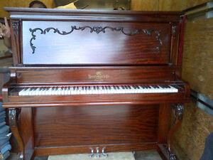Special Heintzman Upright Grand Piano ( circa 1911)