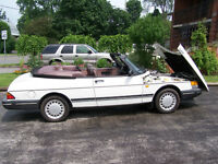 1988 Saab 2.0 litre 900 turbo convertible