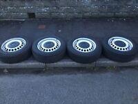 VW Transporter Steel wheels x4