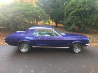 Ford Mustang 1967 289 V8 4.7 Coupe
