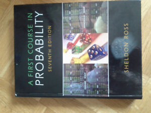 A first Course in Probability - Ross - Statistics Textbook